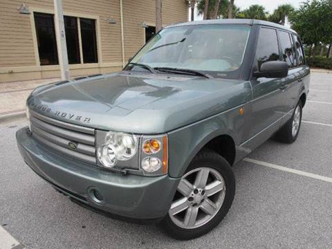 2005 Land Rover Range Rover for sale at Gulf Financial Solutions Inc DBA GFS Autos in Panama City Beach FL