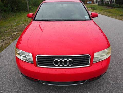 2004 Audi A4 for sale at Gulf Financial Solutions Inc DBA GFS Autos in Panama City Beach FL