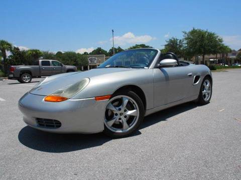 2001 Porsche Boxster for sale at Gulf Financial Solutions Inc DBA GFS Autos in Panama City Beach FL