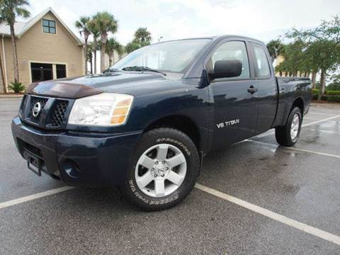 2006 Nissan Titan for sale at Gulf Financial Solutions Inc DBA GFS Autos in Panama City Beach FL