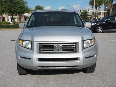 2006 Honda Ridgeline for sale at Gulf Financial Solutions Inc DBA GFS Autos in Panama City Beach FL