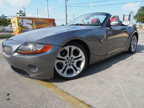 2003 BMW Z4 for sale at Gulf Financial Solutions Inc DBA GFS Autos in Panama City Beach FL