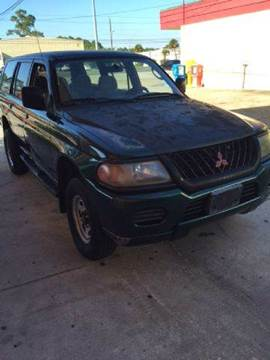 2000 Mitsubishi Montero Sport for sale at Gulf Financial Solutions Inc DBA GFS Autos in Panama City Beach FL