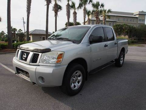 2005 Nissan Titan for sale at Gulf Financial Solutions Inc DBA GFS Autos in Panama City Beach FL