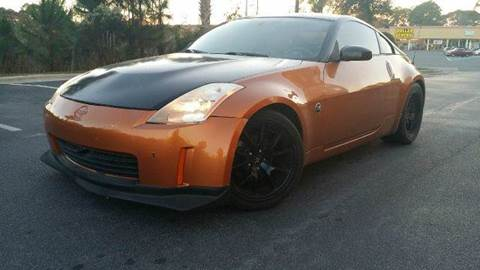 2003 Nissan 350Z for sale at Gulf Financial Solutions Inc DBA GFS Autos in Panama City Beach FL