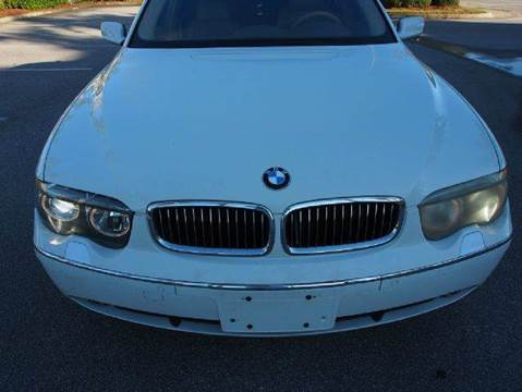 2002 BMW 7 Series for sale at Gulf Financial Solutions Inc DBA GFS Autos in Panama City Beach FL