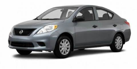 2014 Nissan Versa for sale at Gulf Financial Solutions Inc DBA GFS Autos in Panama City Beach FL