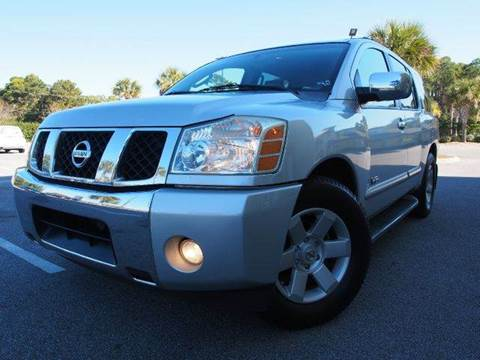2005 Nissan Armada for sale at Gulf Financial Solutions Inc DBA GFS Autos in Panama City Beach FL
