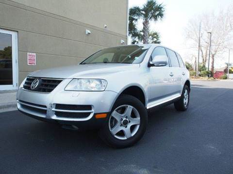 2006 Volkswagen Touareg for sale at Gulf Financial Solutions Inc DBA GFS Autos in Panama City Beach FL