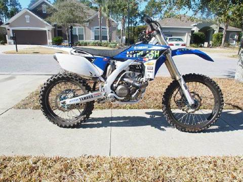 2012 Yamaha YZ250F for sale at Gulf Financial Solutions Inc DBA GFS Autos in Panama City Beach FL