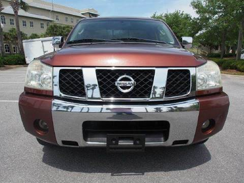 2004 Nissan Titan for sale at Gulf Financial Solutions Inc DBA GFS Autos in Panama City Beach FL