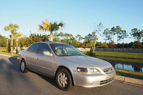 2002 Honda Accord for sale at Gulf Financial Solutions Inc DBA GFS Autos in Panama City Beach FL