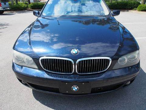 2007 BMW 7 Series for sale at Gulf Financial Solutions Inc DBA GFS Autos in Panama City Beach FL