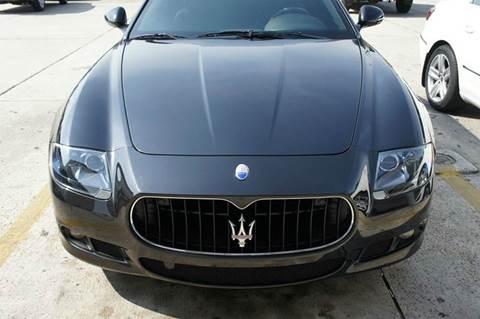 2012 Maserati Quattroporte for sale at Gulf Financial Solutions Inc DBA GFS Autos in Panama City Beach FL