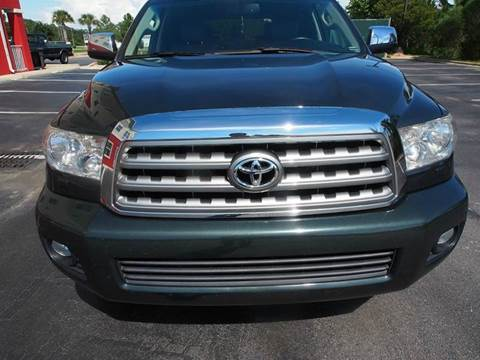 2008 Toyota Sequoia for sale at Gulf Financial Solutions Inc DBA GFS Autos in Panama City Beach FL