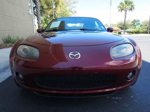 2007 Mazda MX-5 Miata for sale at Gulf Financial Solutions Inc DBA GFS Autos in Panama City Beach FL