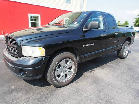 2004 Dodge Ram Pickup 1500 for sale at Gulf Financial Solutions Inc DBA GFS Autos in Panama City Beach FL