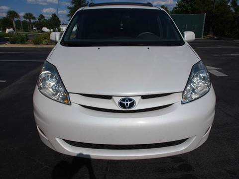 2008 Toyota Sienna for sale at Gulf Financial Solutions Inc DBA GFS Autos in Panama City Beach FL
