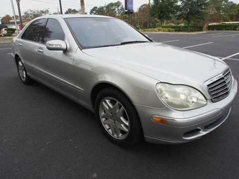 2003 Mercedes-Benz S-Class for sale at Gulf Financial Solutions Inc DBA GFS Autos in Panama City Beach FL