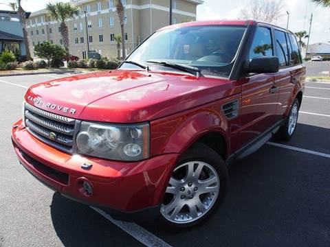 2006 Land Rover Range Rover Sport for sale at Gulf Financial Solutions Inc DBA GFS Autos in Panama City Beach FL