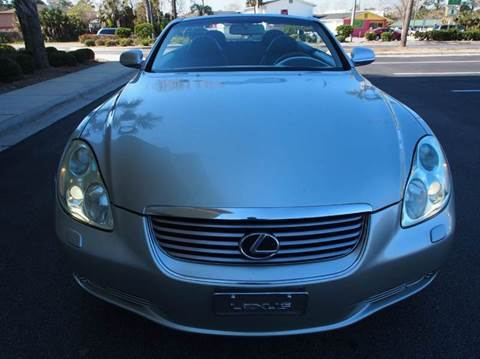 2003 Lexus SC 430 for sale at Gulf Financial Solutions Inc DBA GFS Autos in Panama City Beach FL