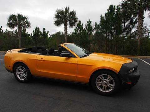 2012 Ford Mustang for sale at Gulf Financial Solutions Inc DBA GFS Autos in Panama City Beach FL