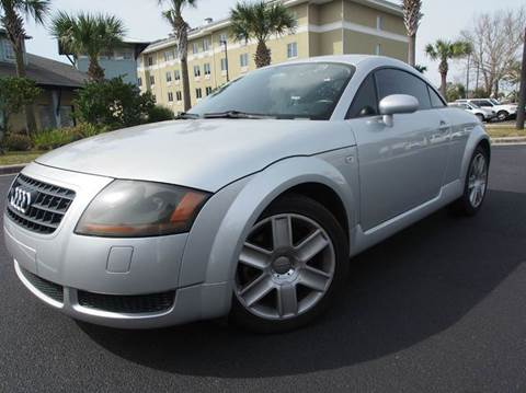 2006 Audi TT for sale at Gulf Financial Solutions Inc DBA GFS Autos in Panama City Beach FL