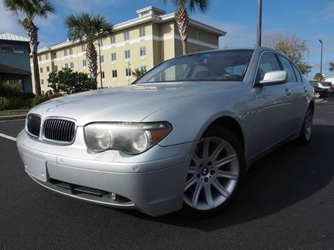 2004 BMW 7 Series for sale at Gulf Financial Solutions Inc DBA GFS Autos in Panama City Beach FL