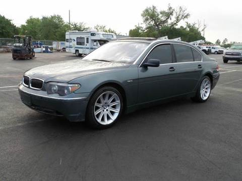 2003 BMW 7 Series for sale at Gulf Financial Solutions Inc DBA GFS Autos in Panama City Beach FL