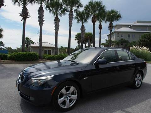 2008 BMW 5 Series for sale at Gulf Financial Solutions Inc DBA GFS Autos in Panama City Beach FL