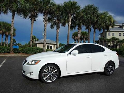2008 Lexus IS 350 for sale at Gulf Financial Solutions Inc DBA GFS Autos in Panama City Beach FL