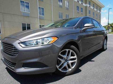 2014 Ford Fusion for sale at Gulf Financial Solutions Inc DBA GFS Autos in Panama City Beach FL