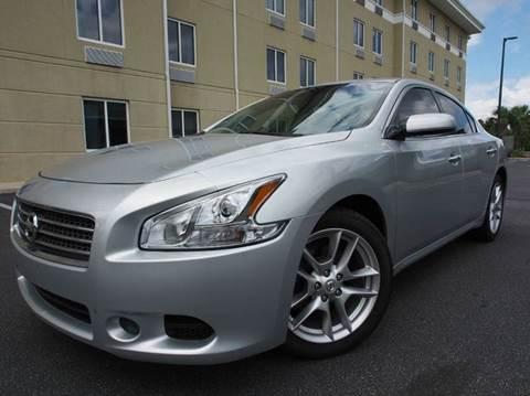 2009 Nissan Maxima for sale at Gulf Financial Solutions Inc DBA GFS Autos in Panama City Beach FL