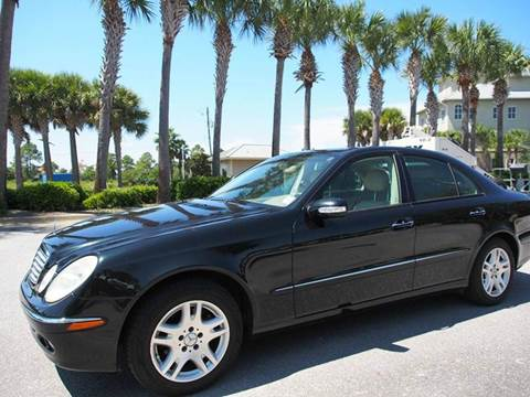 2005 Mercedes-Benz E-Class for sale at Gulf Financial Solutions Inc DBA GFS Autos in Panama City Beach FL
