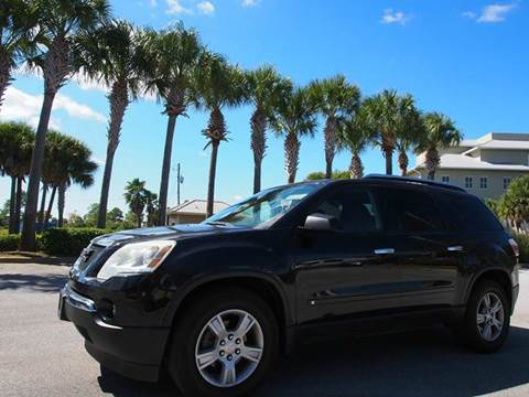 2009 GMC Acadia for sale at Gulf Financial Solutions Inc DBA GFS Autos in Panama City Beach FL