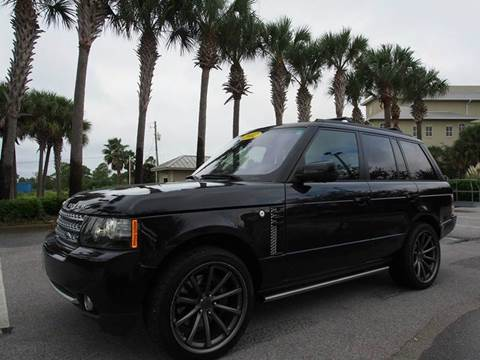 2012 Land Rover Range Rover for sale at Gulf Financial Solutions Inc DBA GFS Autos in Panama City Beach FL