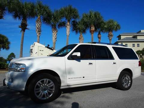 2013 Lincoln Navigator L for sale at Gulf Financial Solutions Inc DBA GFS Autos in Panama City Beach FL
