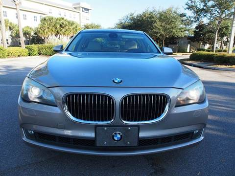 2009 BMW 7 Series for sale at Gulf Financial Solutions Inc DBA GFS Autos in Panama City Beach FL