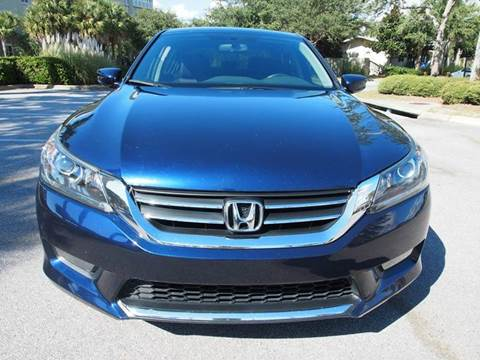 2014 Honda Accord for sale at Gulf Financial Solutions Inc DBA GFS Autos in Panama City Beach FL