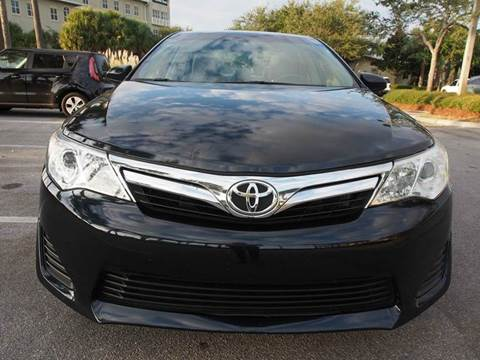 2012 Toyota Camry for sale at Gulf Financial Solutions Inc DBA GFS Autos in Panama City Beach FL