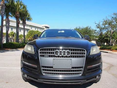 2008 Audi Q7 for sale at Gulf Financial Solutions Inc DBA GFS Autos in Panama City Beach FL