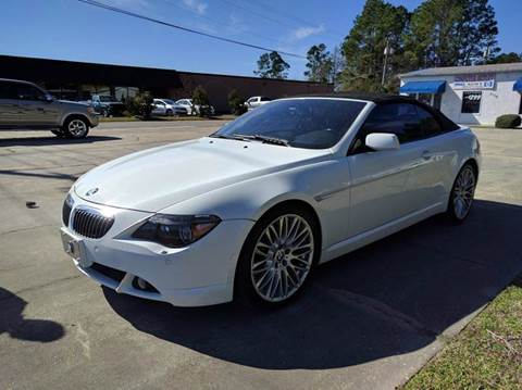 2005 BMW 6 Series for sale at Gulf Financial Solutions Inc DBA GFS Autos in Panama City Beach FL
