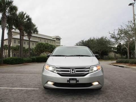 2012 Honda Odyssey for sale at Gulf Financial Solutions Inc DBA GFS Autos in Panama City Beach FL
