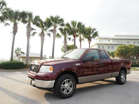 2005 Ford F-150 for sale at Gulf Financial Solutions Inc DBA GFS Autos in Panama City Beach FL