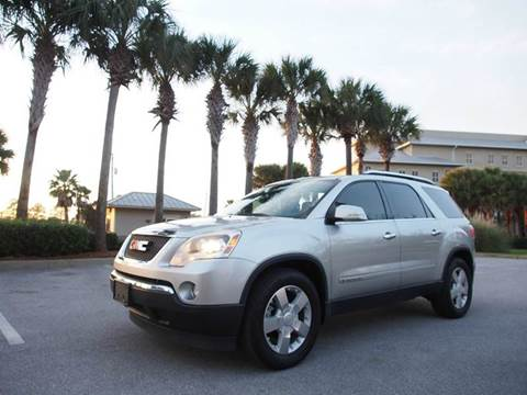 2008 GMC Acadia for sale at Gulf Financial Solutions Inc DBA GFS Autos in Panama City Beach FL