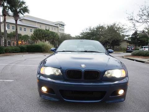 2004 BMW M3 for sale at Gulf Financial Solutions Inc DBA GFS Autos in Panama City Beach FL