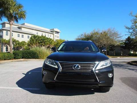 2013 Lexus RX 350 for sale at Gulf Financial Solutions Inc DBA GFS Autos in Panama City Beach FL