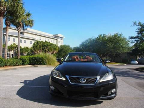 2011 Lexus IS 250C for sale at Gulf Financial Solutions Inc DBA GFS Autos in Panama City Beach FL