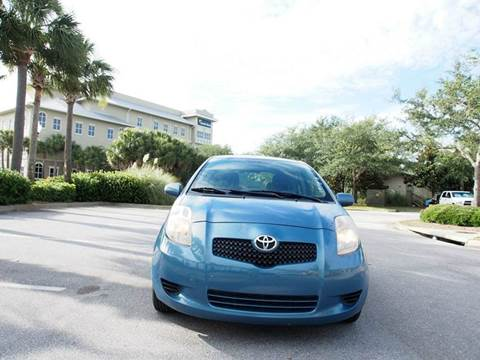 2008 Toyota Yaris for sale at Gulf Financial Solutions Inc DBA GFS Autos in Panama City Beach FL