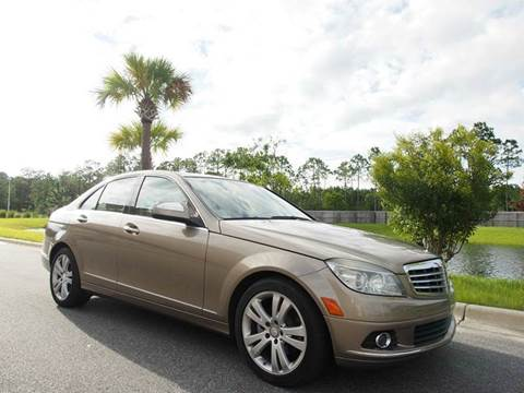 2009 Mercedes-Benz C-Class for sale at Gulf Financial Solutions Inc DBA GFS Autos in Panama City Beach FL